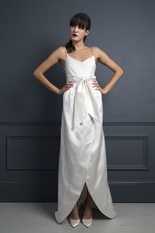ITALIAN COCKTAIL SKIRT & IRIS CAMISOLE | WEDDING DRESS BY HALFPENNY LONDON
