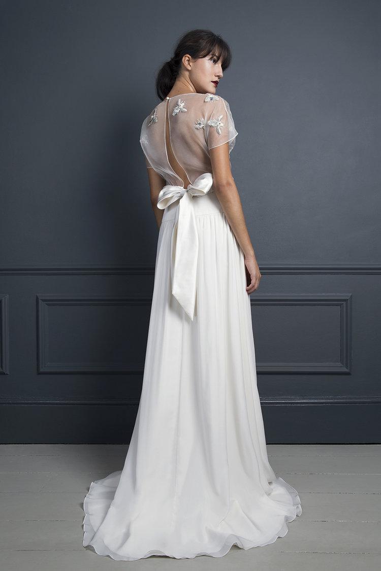 BUMBLE TOP & LAURA SKIRT | WEDDING DRESS BY HALFPENNY LONDON