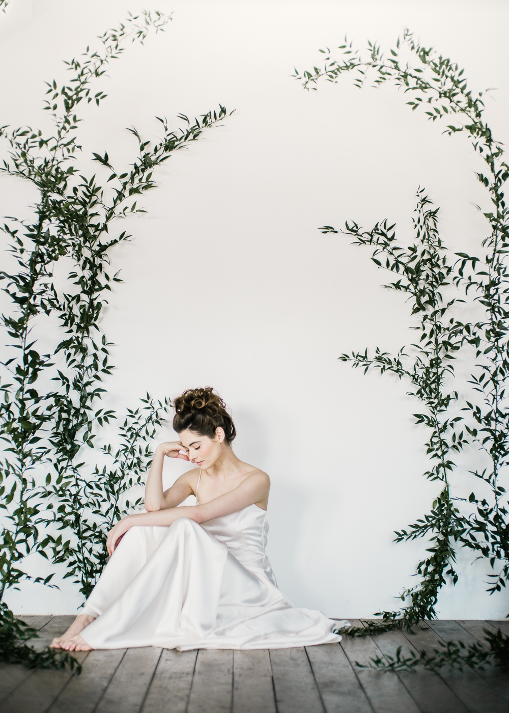 Elegant styled shoot by John Barwood featured on Rock My