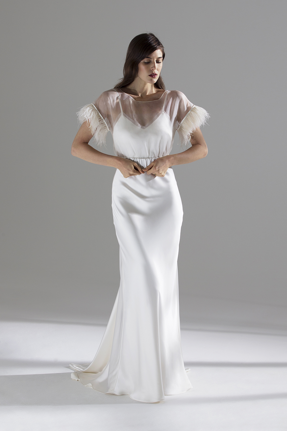 Halfpenny London for Net A Porter | Wedding dresses and separates for the modern bride