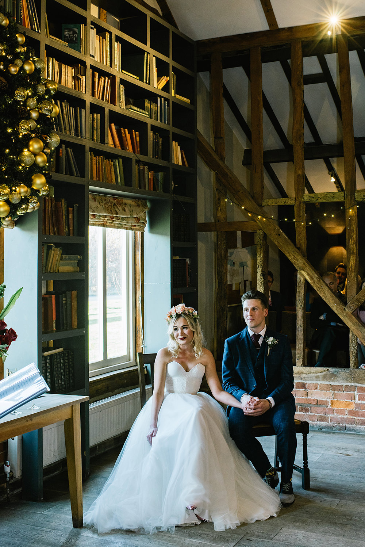 Beautiful bride Alice wore bridal separates by Halfpenny London