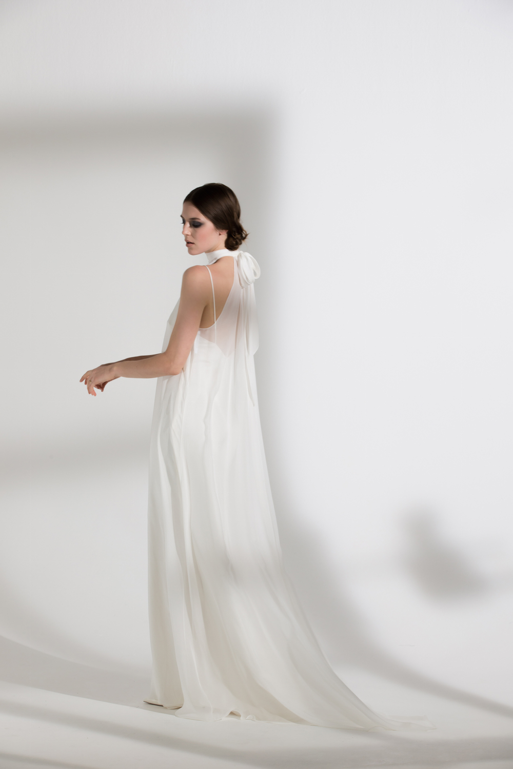 MAGNOLIA DRESS & IRIS SLIP | WEDDING DRESS BY HALFPENNY LONDON