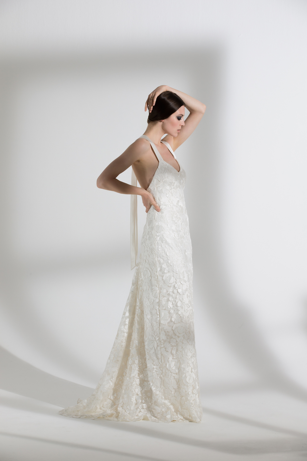 Primrose lace wedding dress by Halfpenny London