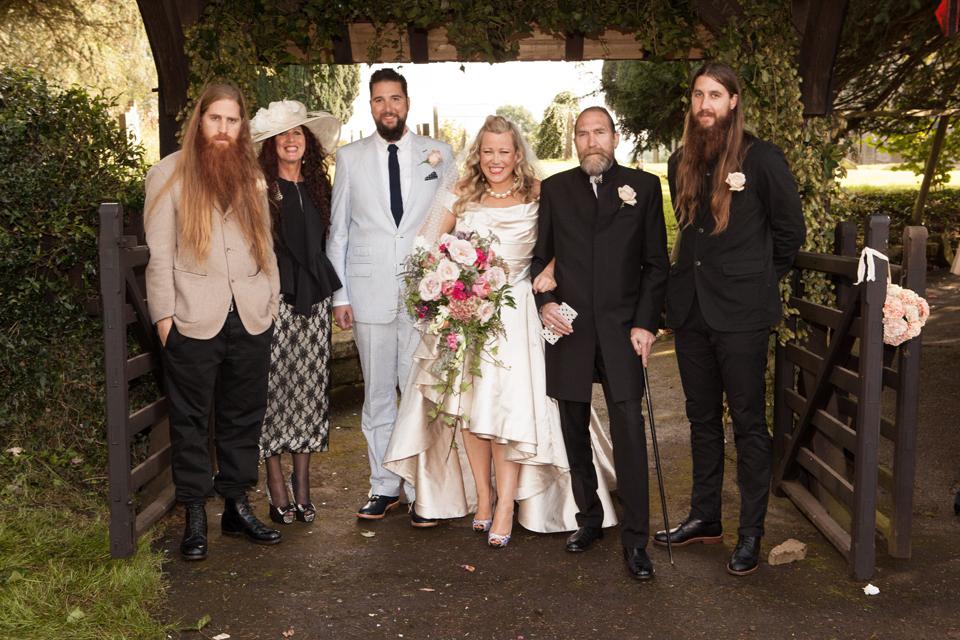 Kate Halfpenny's wedding day