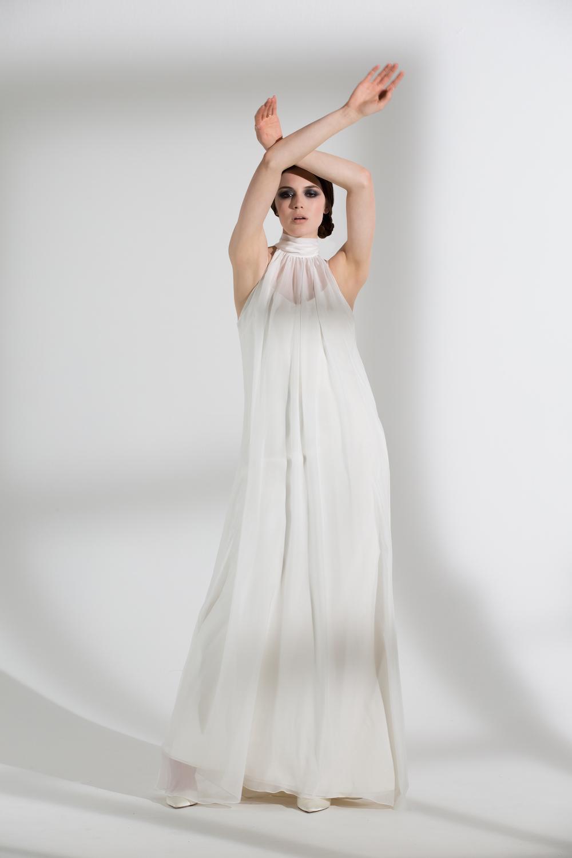 MAGNOLIA DRESS & IRIS SLIP | WEDDING DRESS BY HALFPENNY LONDON