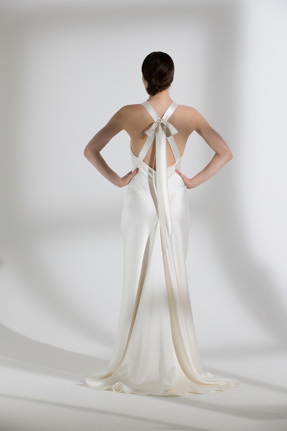 Juniper dress by Halfpenny London | Stylish, fitted wedding gown