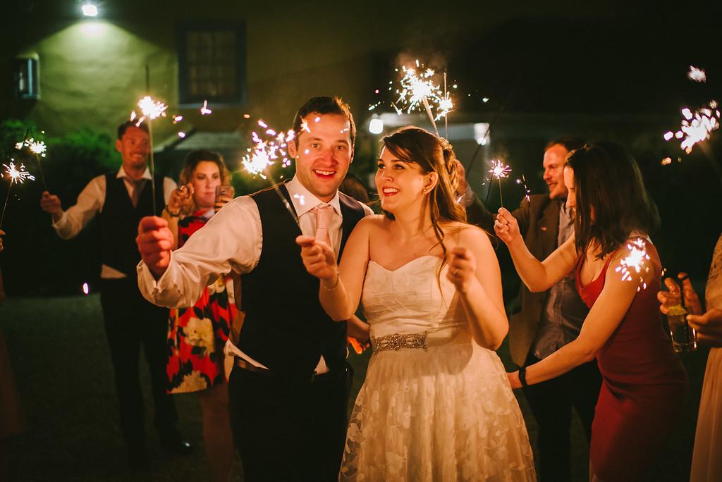 Beautiful bride Jo-Anne wore a wedding dress by Halfpenny London