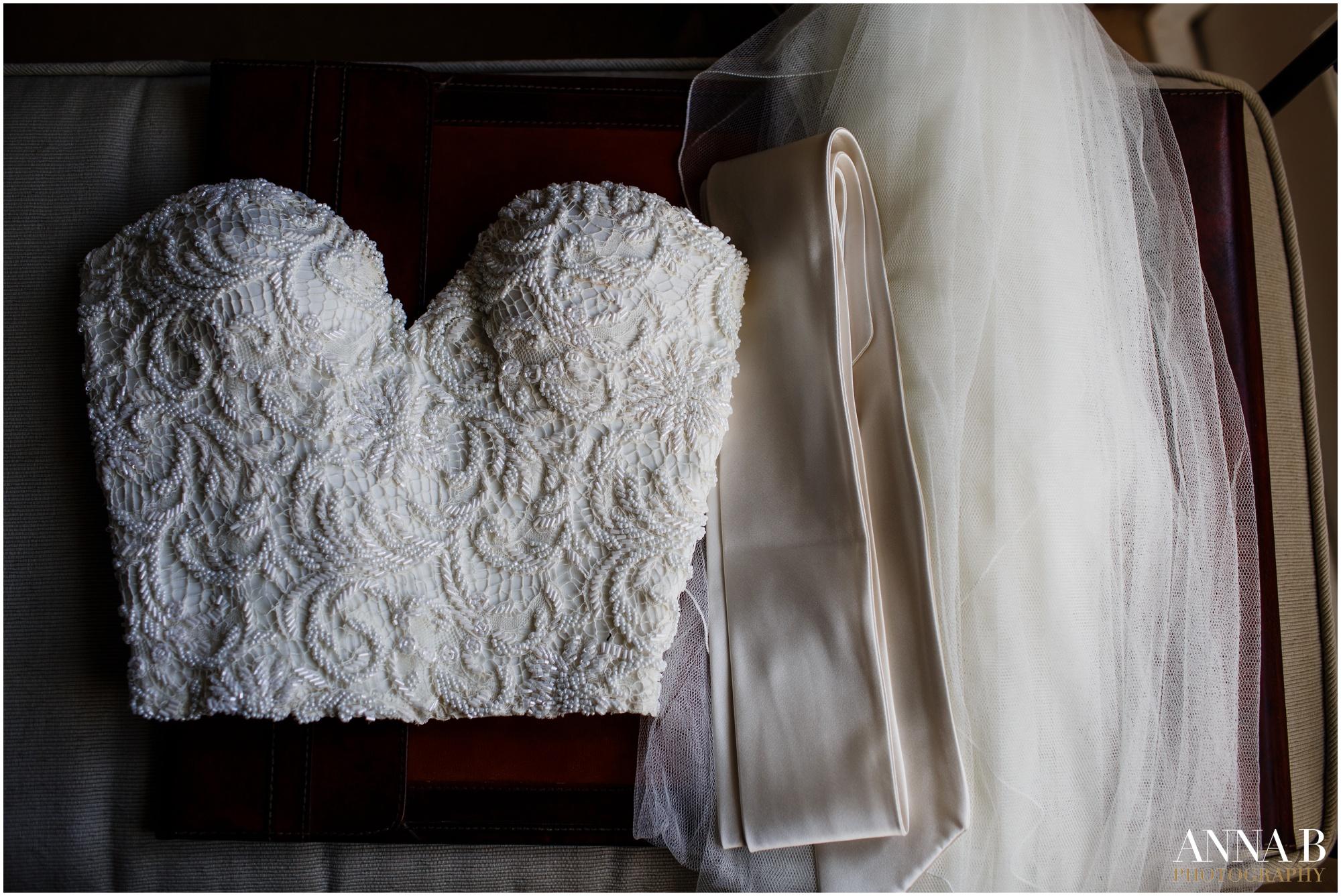 Beautiful bride Camilla wore a wedding dress by Halfpenny London