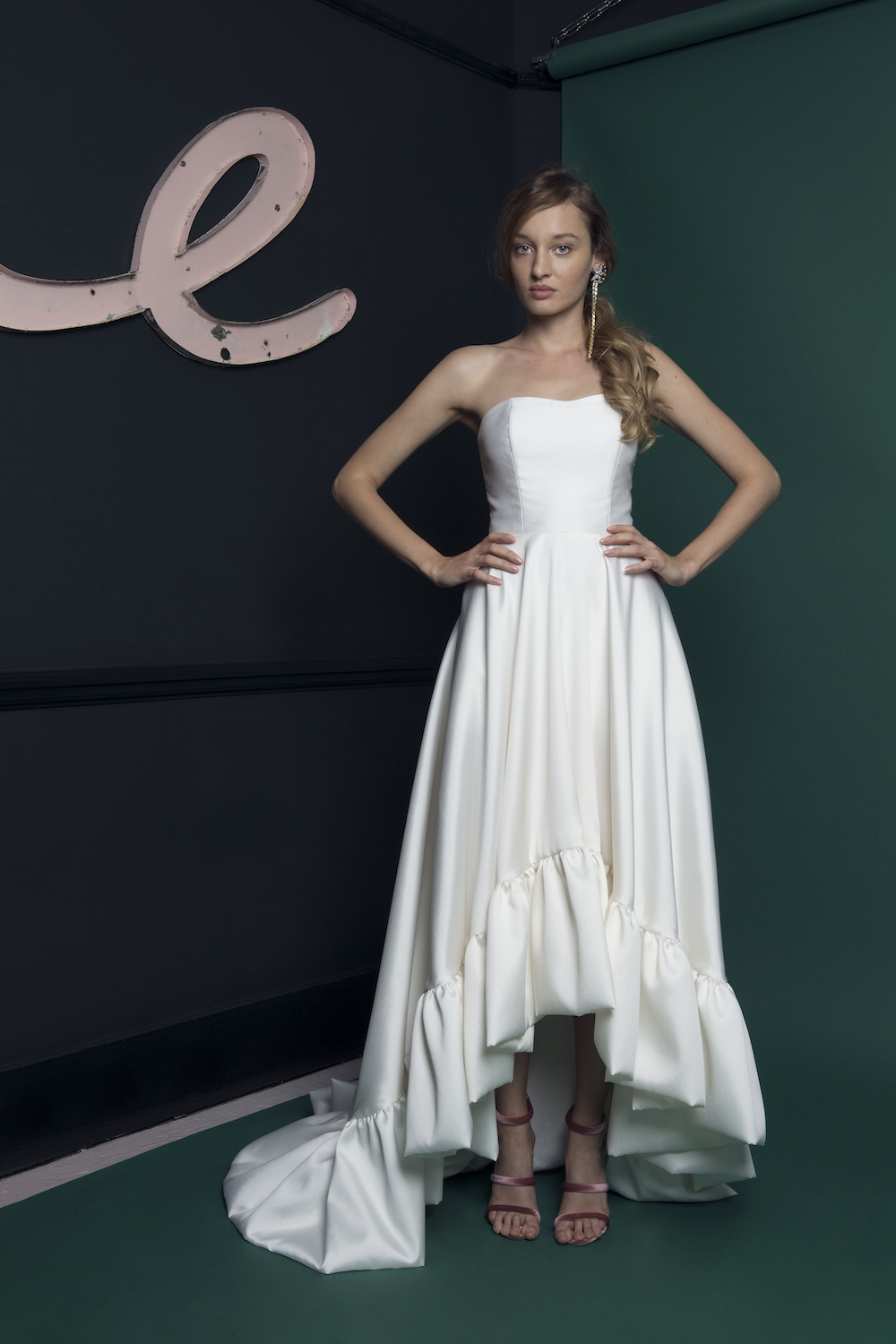 BREEZE DRESS | WEDDING DRESS BY HALFPENNY LONDON