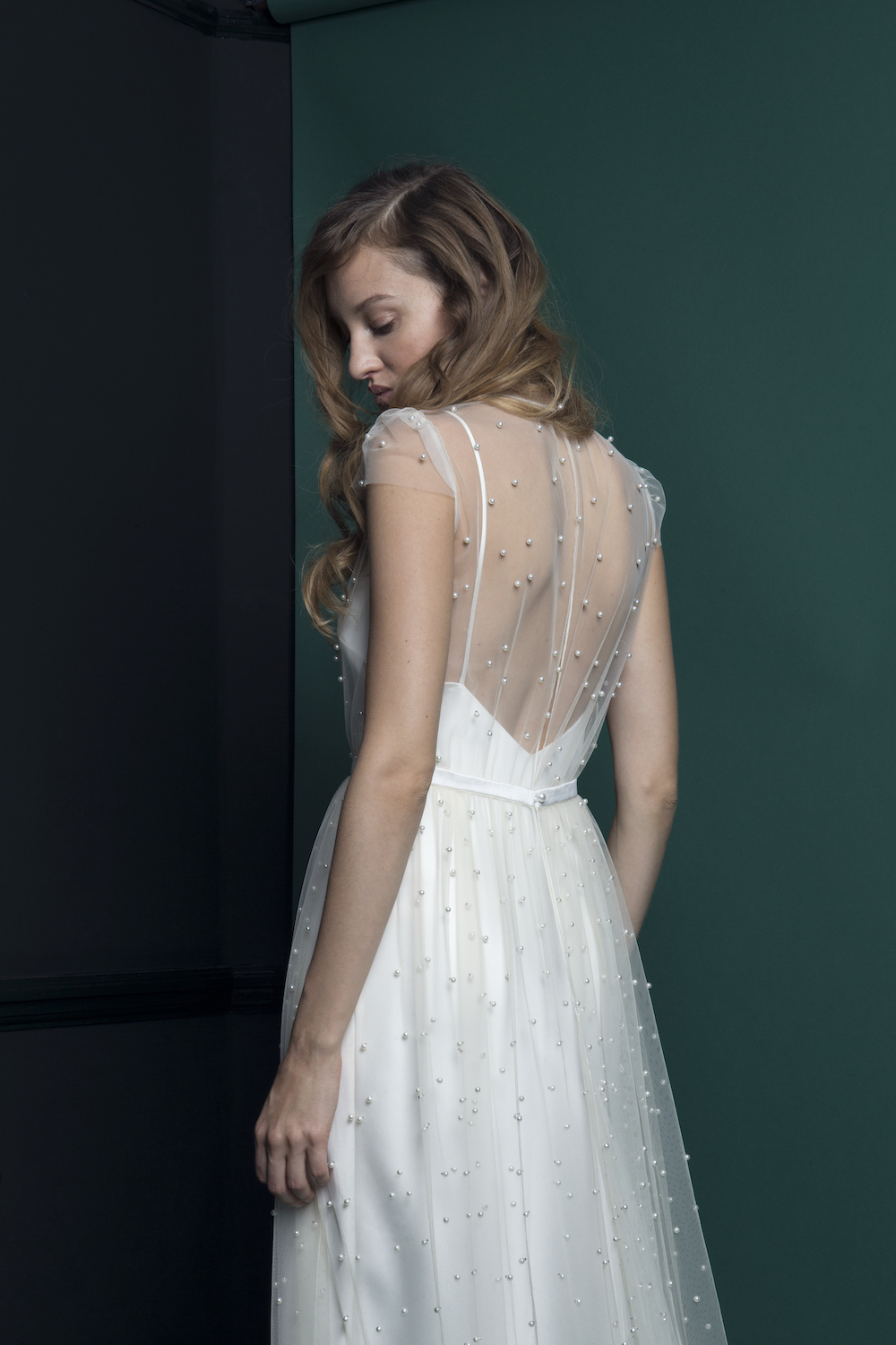 PEARL DRESS | WEDDING DRESS BY HALFPENNY LONDON