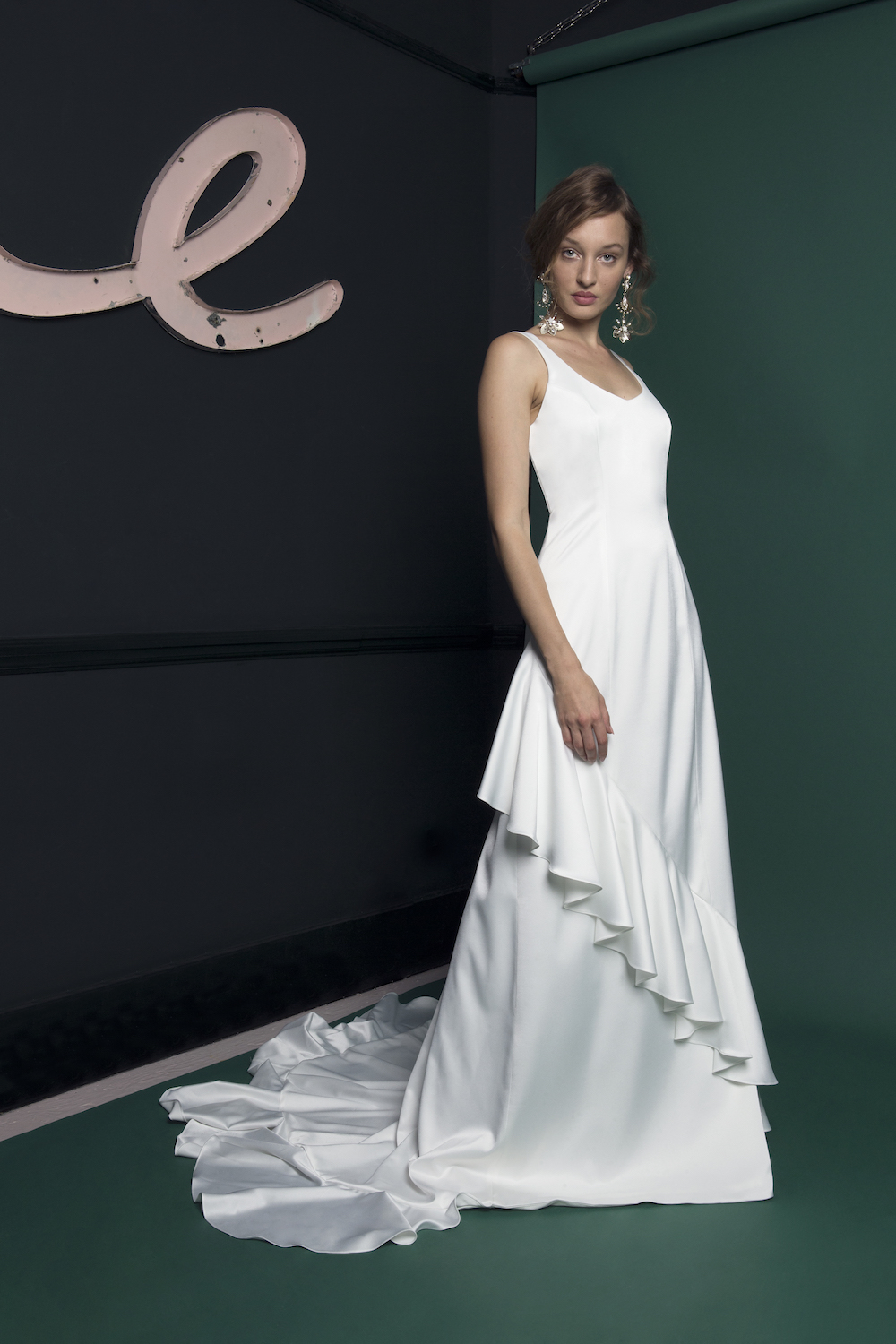 WAVE DRESS | WEDDING DRESS BY HALFPENNY LONDON