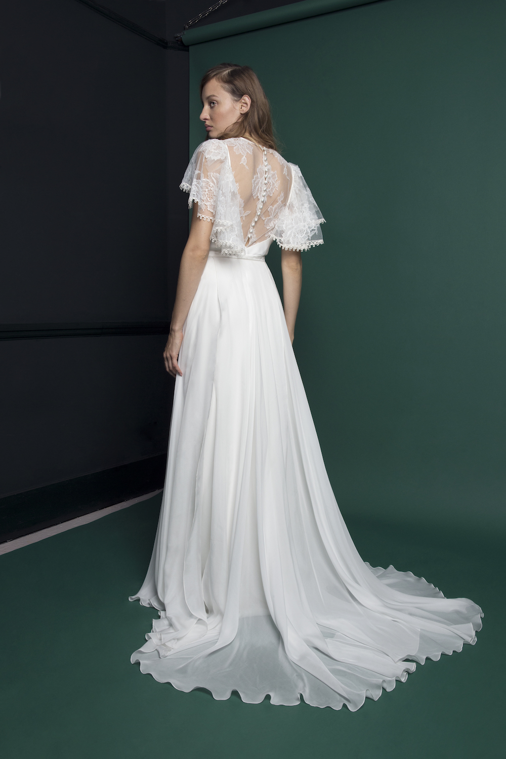 RIDLEY SKIRT & TOP | WEDDING DRESS BY HALFPENNY LONDON | ATLANTIS COLLECTION