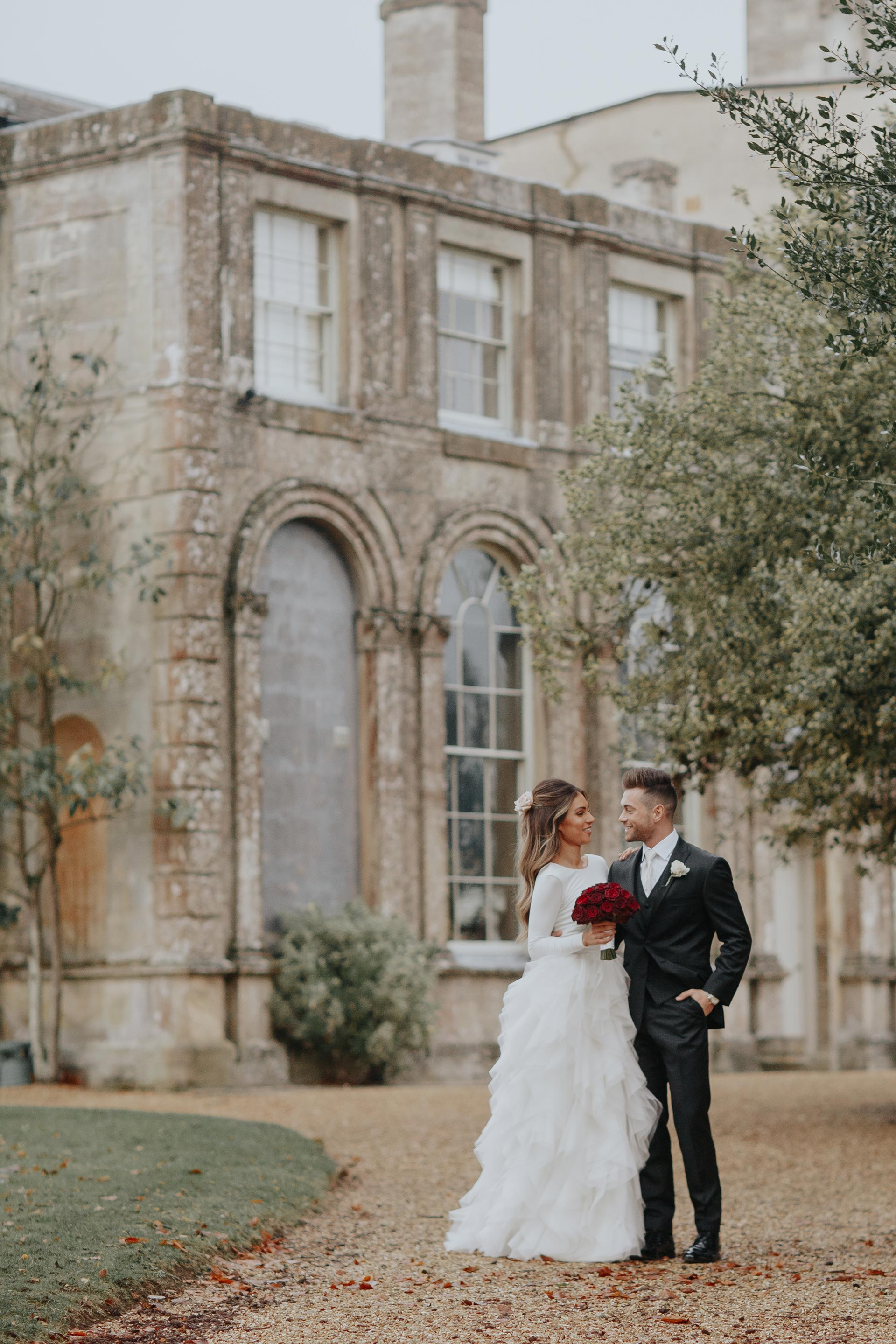 Gorgeous bride Lydia Elise Millen wore a wedding dress by Halfpenny London | Image by Wish Wish Weddings