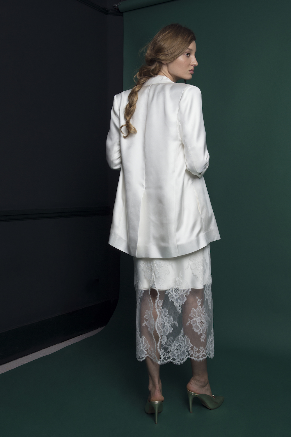 NEPTUNE BLAZER | WEDDING DRESS BY HALFPENNY LONDON