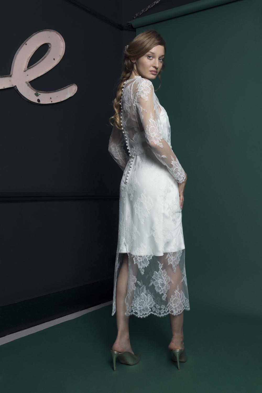 RIVER TOP & SKIRT | WEDDING DRESS BY HALFPENNY LONDON