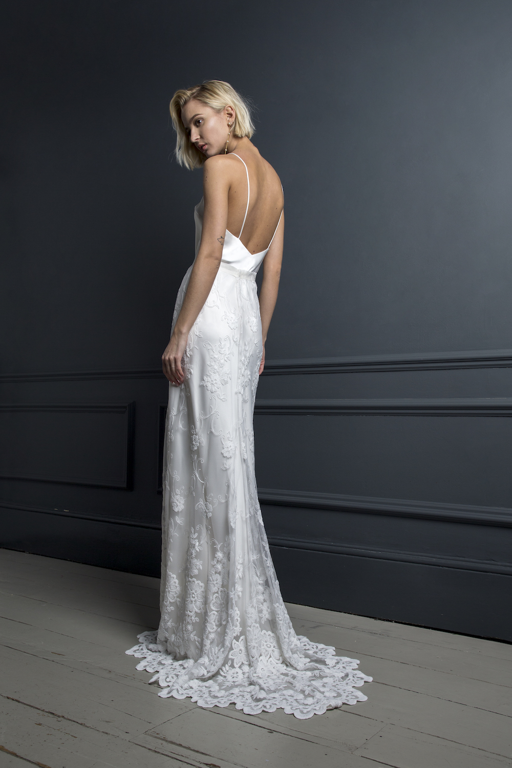 CHARLIE SKIRT & IRIS SLIP | WEDDING DRESS BY HALFPENNY LONDON