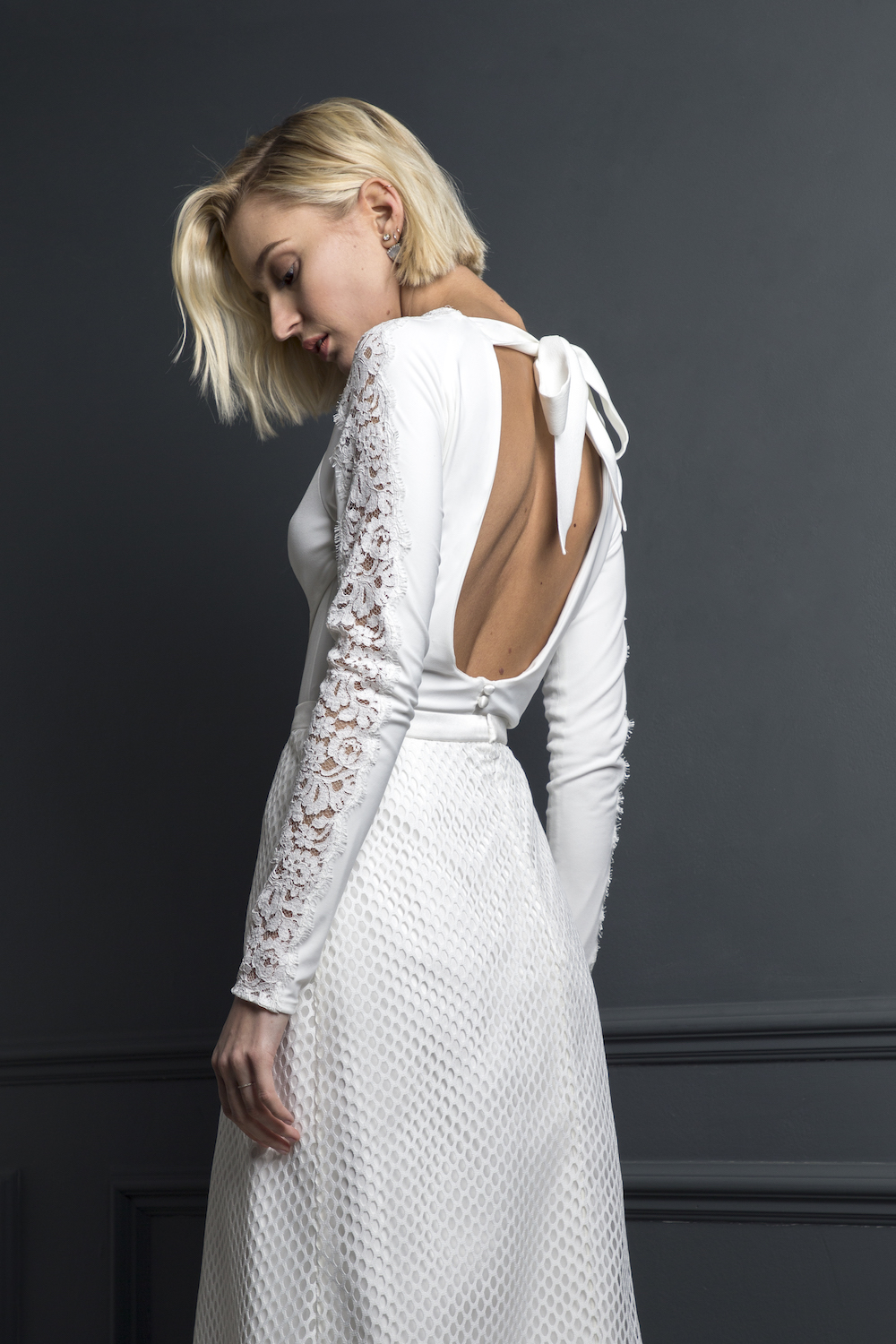 DYLAN TOP & SKIRT | WEDDING DRESS BY HALFPENNY LONDON