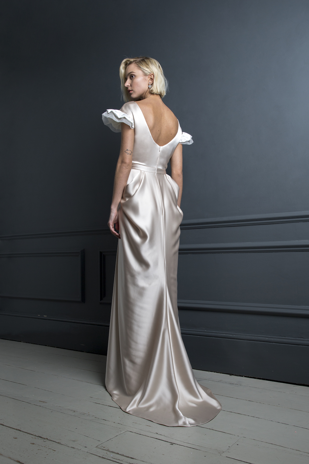 JAMES - LEE DRESS | WEDDING DRESS BY HALFPENNY LONDON