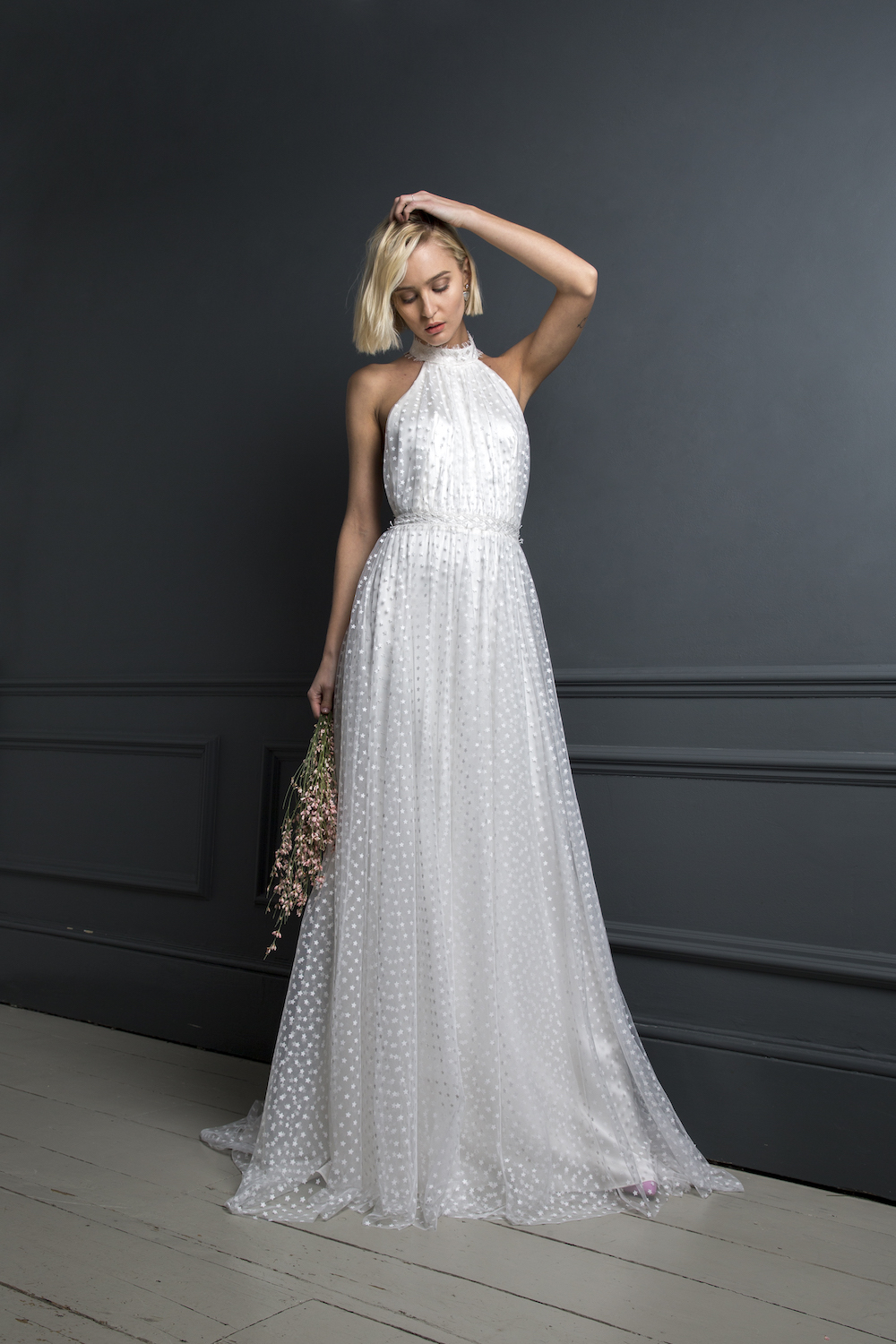 LUKAS DRESS| WEDDING DRESS BY HALFPENNY LONDON
