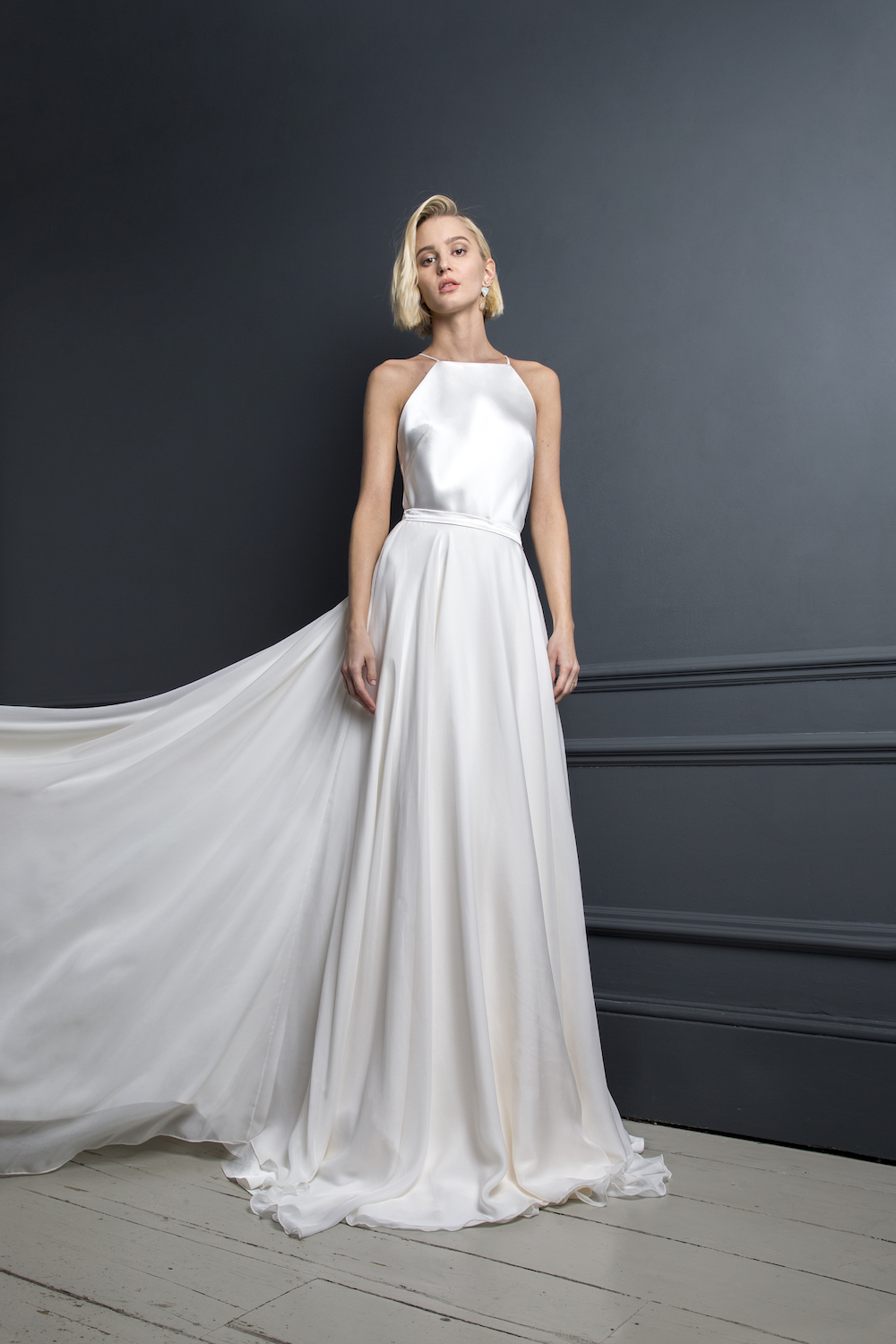 MAX DRESS & PETER SKIRT | WEDDING DRESS BY HALFPENNY LONDON
