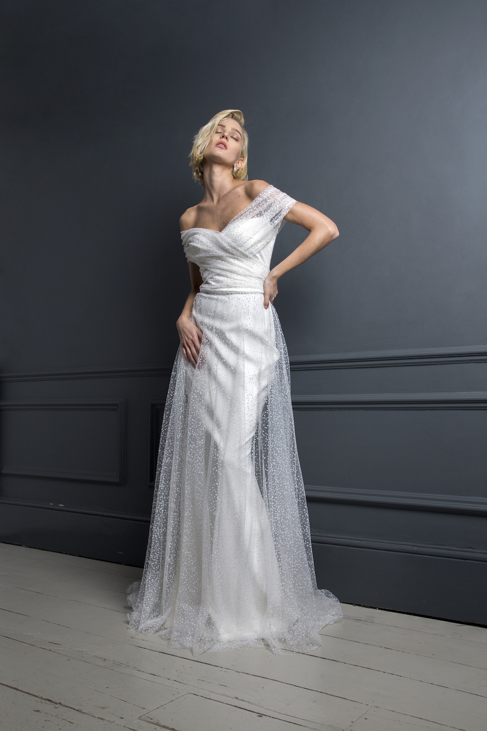 SCOTTY DRESS | WEDDING DRESS BY HALFPENNY LONDON