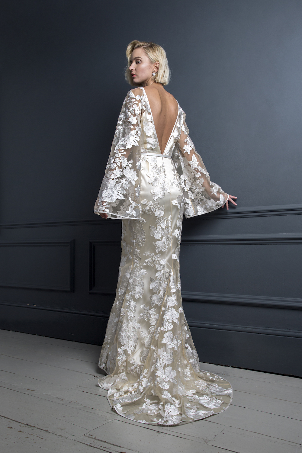 STEVIE DRESS | WEDDING DRESS BY HALFPENNY LONDON