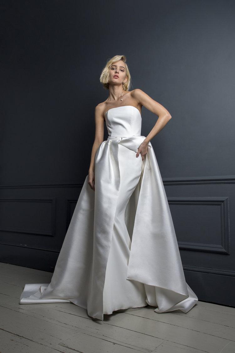 OLIVER DRESS & CHRISTIAN SKIRT | WEDDING DRESS BY HALFPENNY LONDON