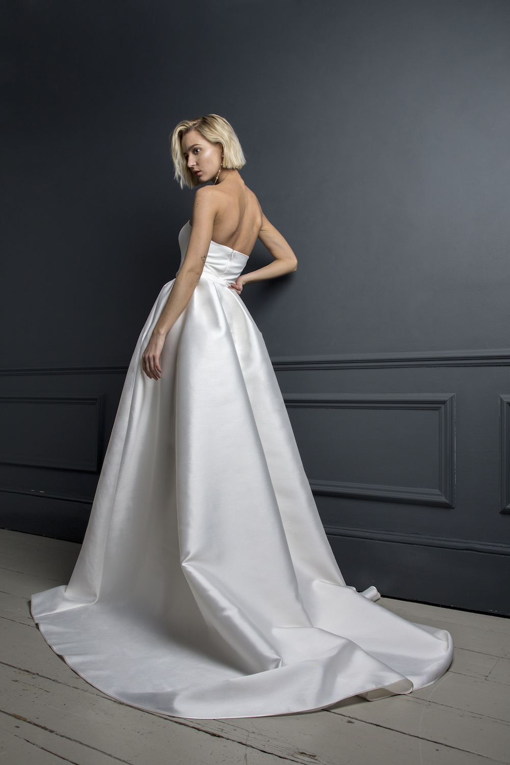 OLIVER DRESS & CHRISTIAN SKIRT | WEDDING DRESS BY HALFPENNY LONDON