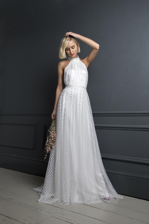 LUKAS DRESS| WEDDING DRESS BY HALFPENNY LONDON