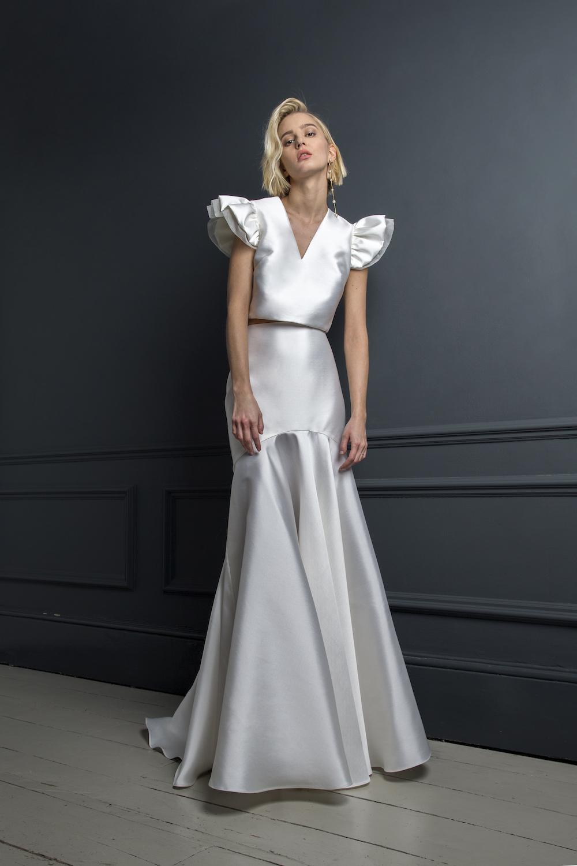 GEORGE TOP & SKIRT | WEDDING DRESS BY HALFPENNY LONDON
