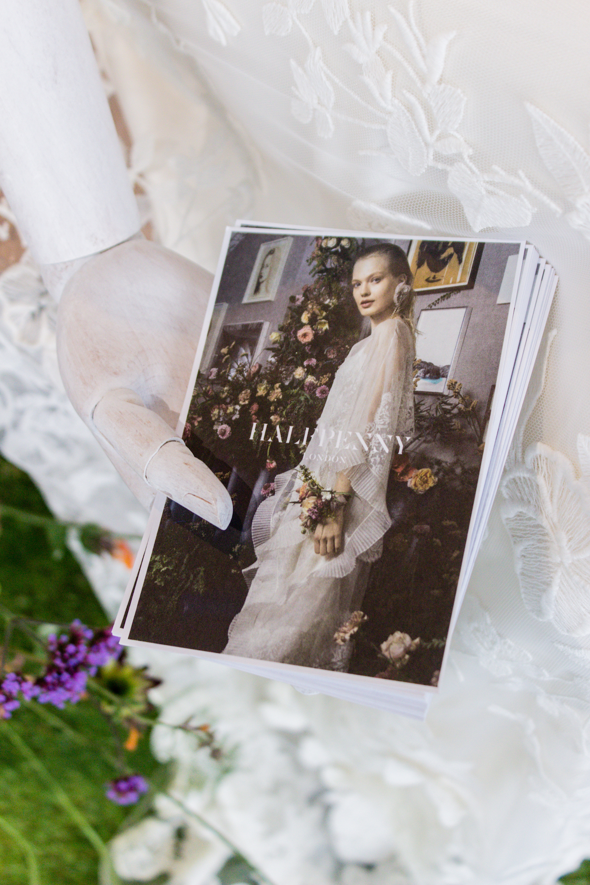 Halfpenny London at Brides the Show 2018