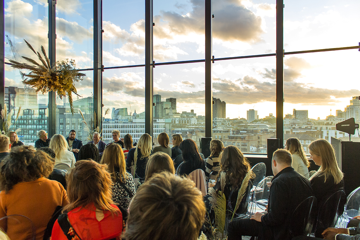 Halfpenny London at the Thoroughly Modern Marriage event with Knot & Pop at the Ace Hotel