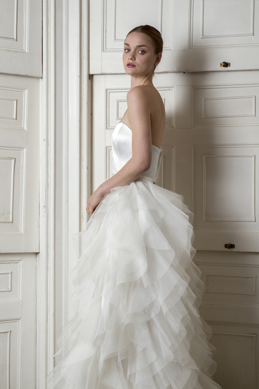 BREEZE CORSET & RIHANNA SKIRT | WEDDING DRESS BY HALFPENNY LONDON