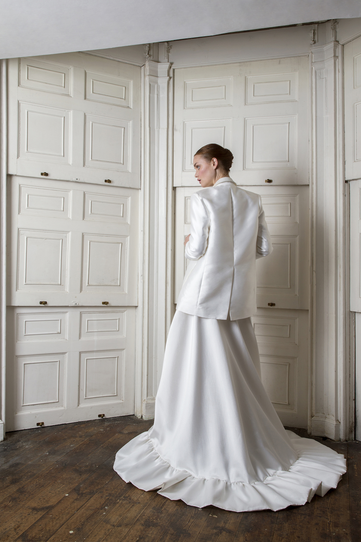 NEPTUNE BLAZER & BREEZE DRESS | WEDDING DRESS BY HALFPENNY LONDON