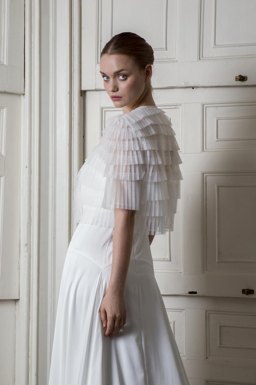 EUSTON JACKET & FINSBURY DRESS | WEDDING DRESS BY HALFPENNY LONDON