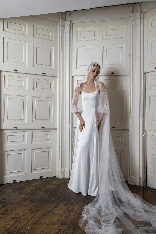 MARYLEBONE VEIL | WEDDING DRESS BY HALFPENNY LONDON