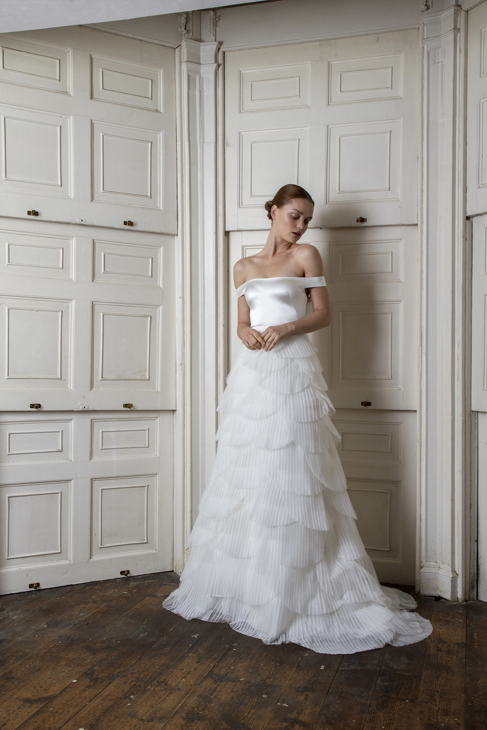 HARBOUR TOP & EUSTON SKIRT | WEDDING DRESS BY HALFPENNY LONDON