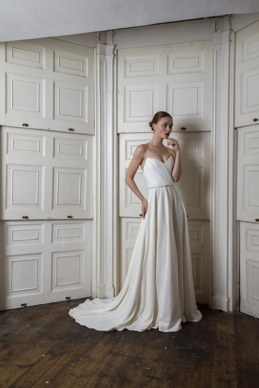 LADBROKE CORSET & SKIRT | WEDDING DRESS BY HALFPENNY