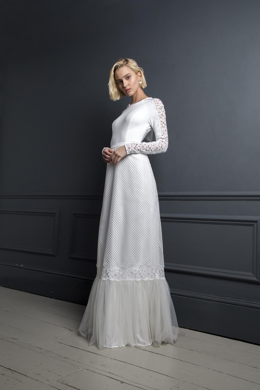DYLAN TOP & SKIRT | WEDDING DRESS BY HALFPENNY LONDON