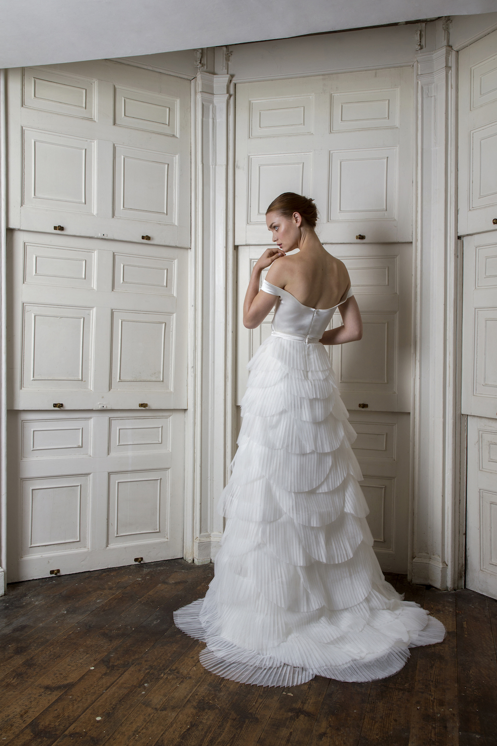 Harbour top and Euston skirt | Wedding dress by Halfpenny London