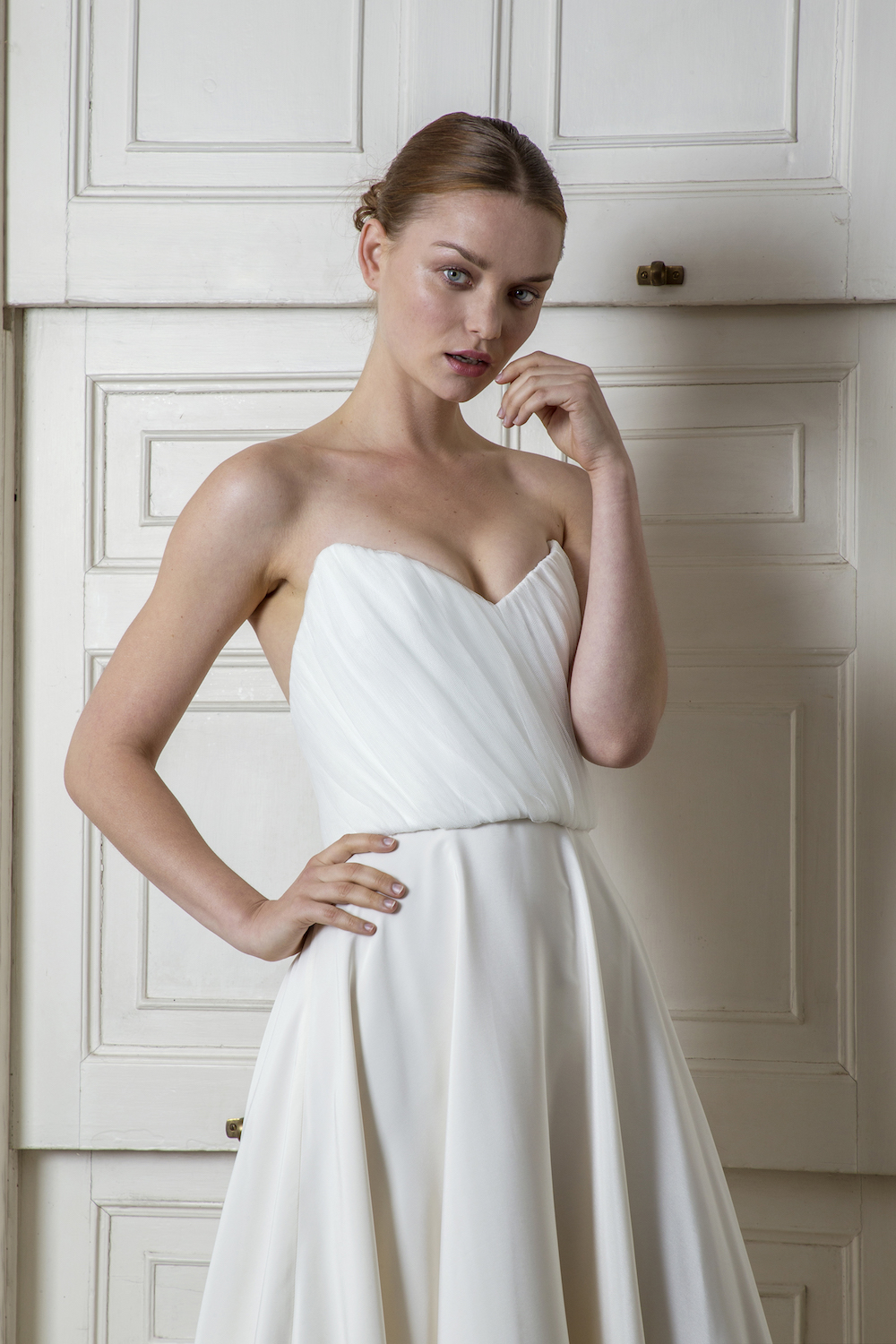 LADBROKE CORSET & SKIRT | WEDDING DRESS BY HALFPENNY LONDON