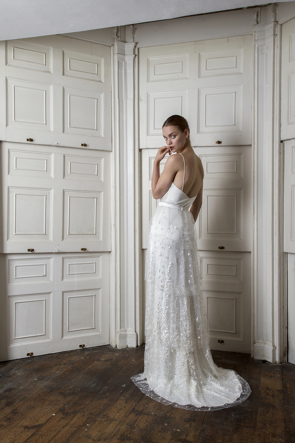 CAMDEN SKIRT & IRIS CAMISOLE | WEDDING DRESS BY HALFPENNY LONDON