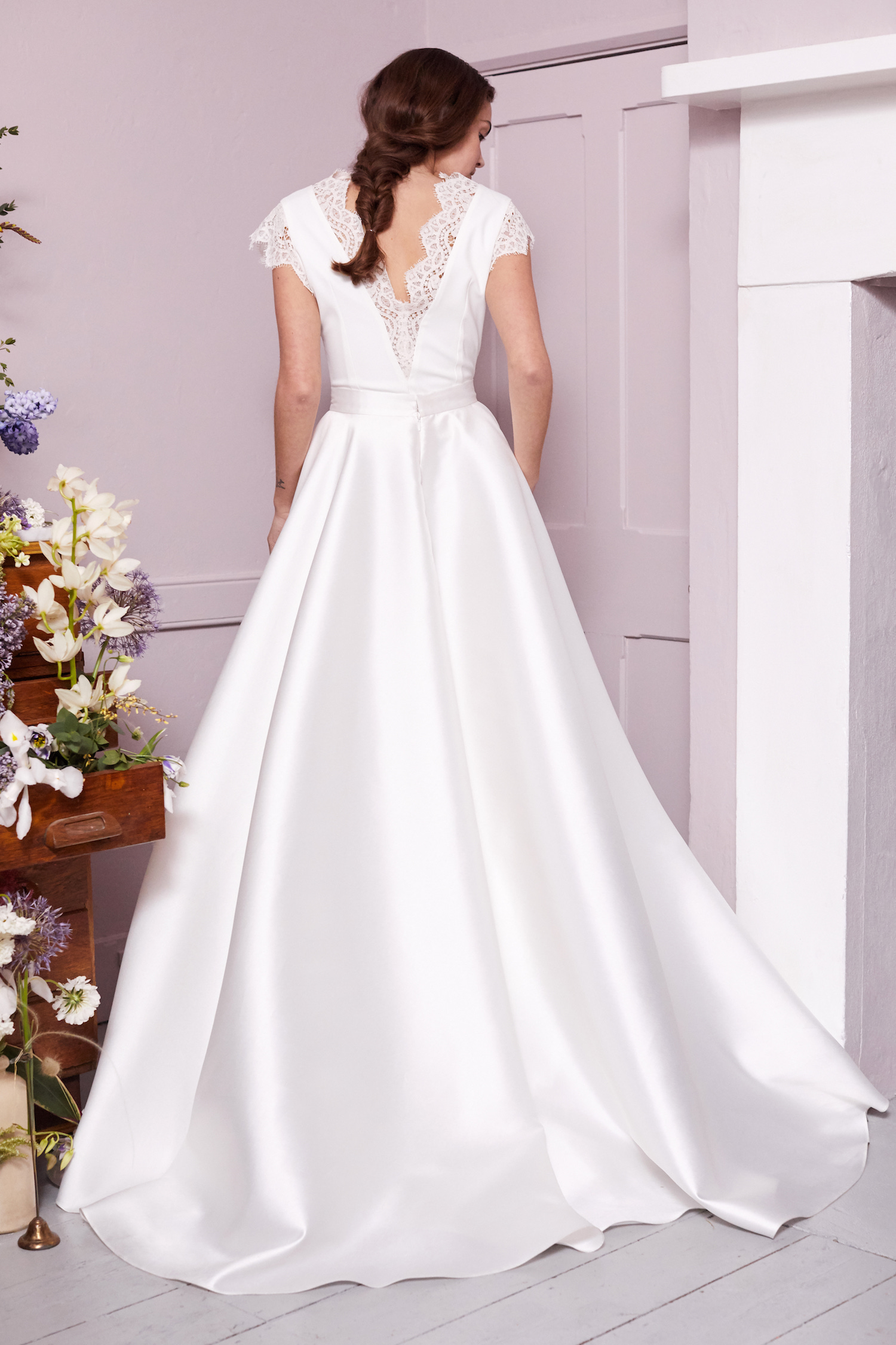 EMIN TOP & ELLIE SKIRT | WEDDING DRESS BY HALFPENNY LONDON