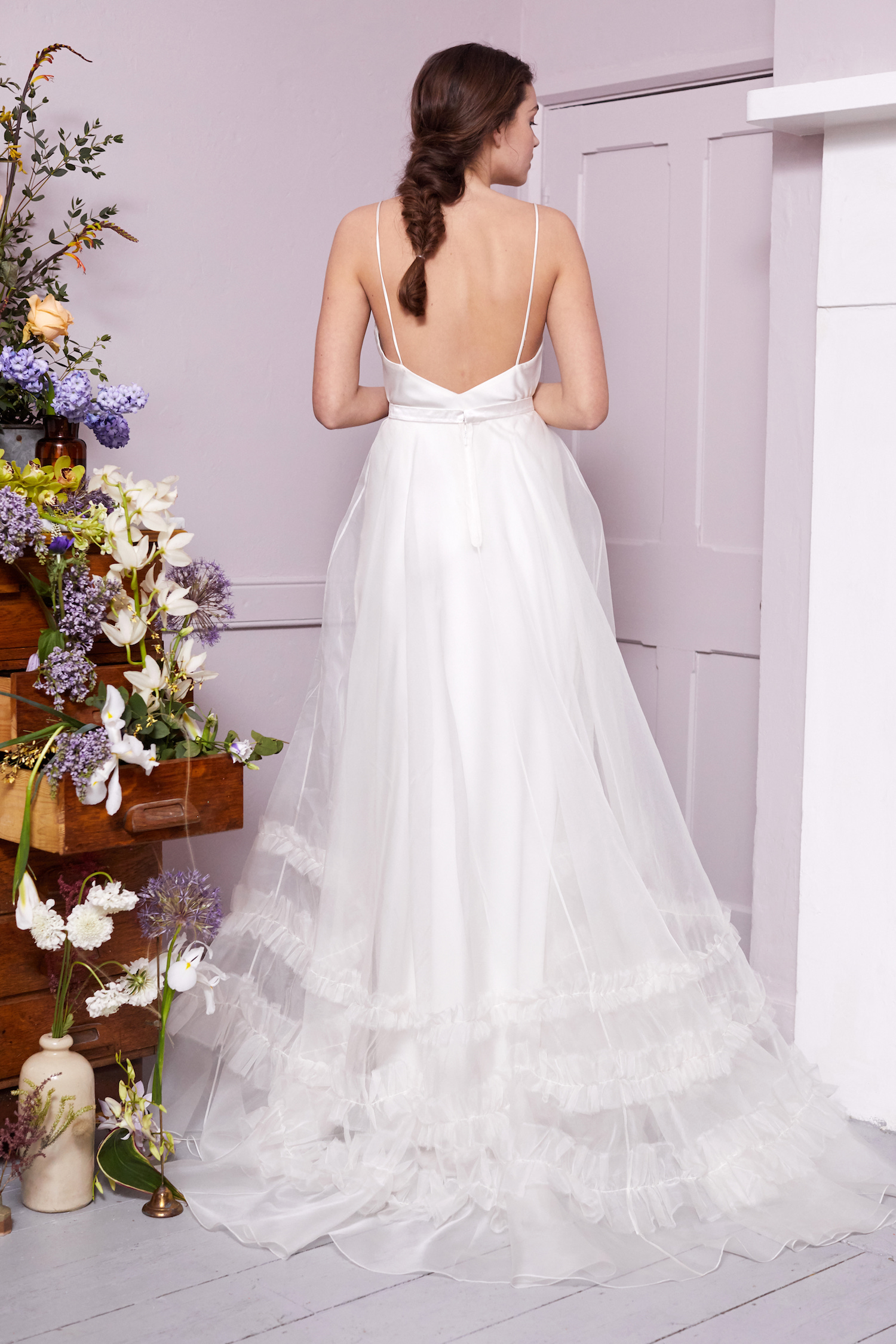 MAYFAIR SKIRT & IRIS SLIP | WEDDING DRESS BY HALFPENNY LONDON