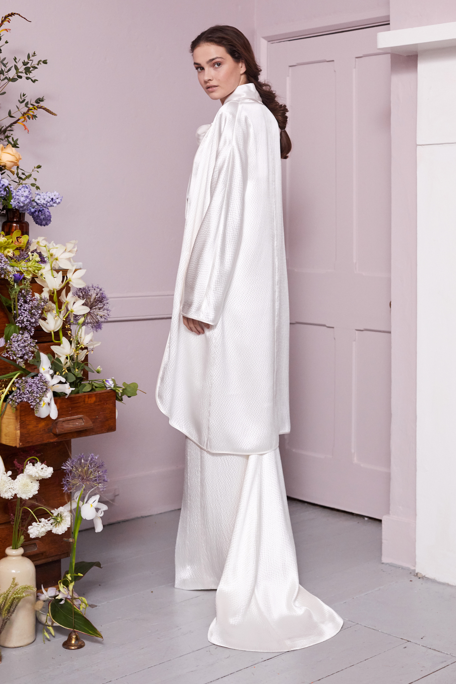 ORKA JACKET, PARRY BLOUSE & ORKA SKIRT | WEDDING DRESS BY HALFPENNY LONDON