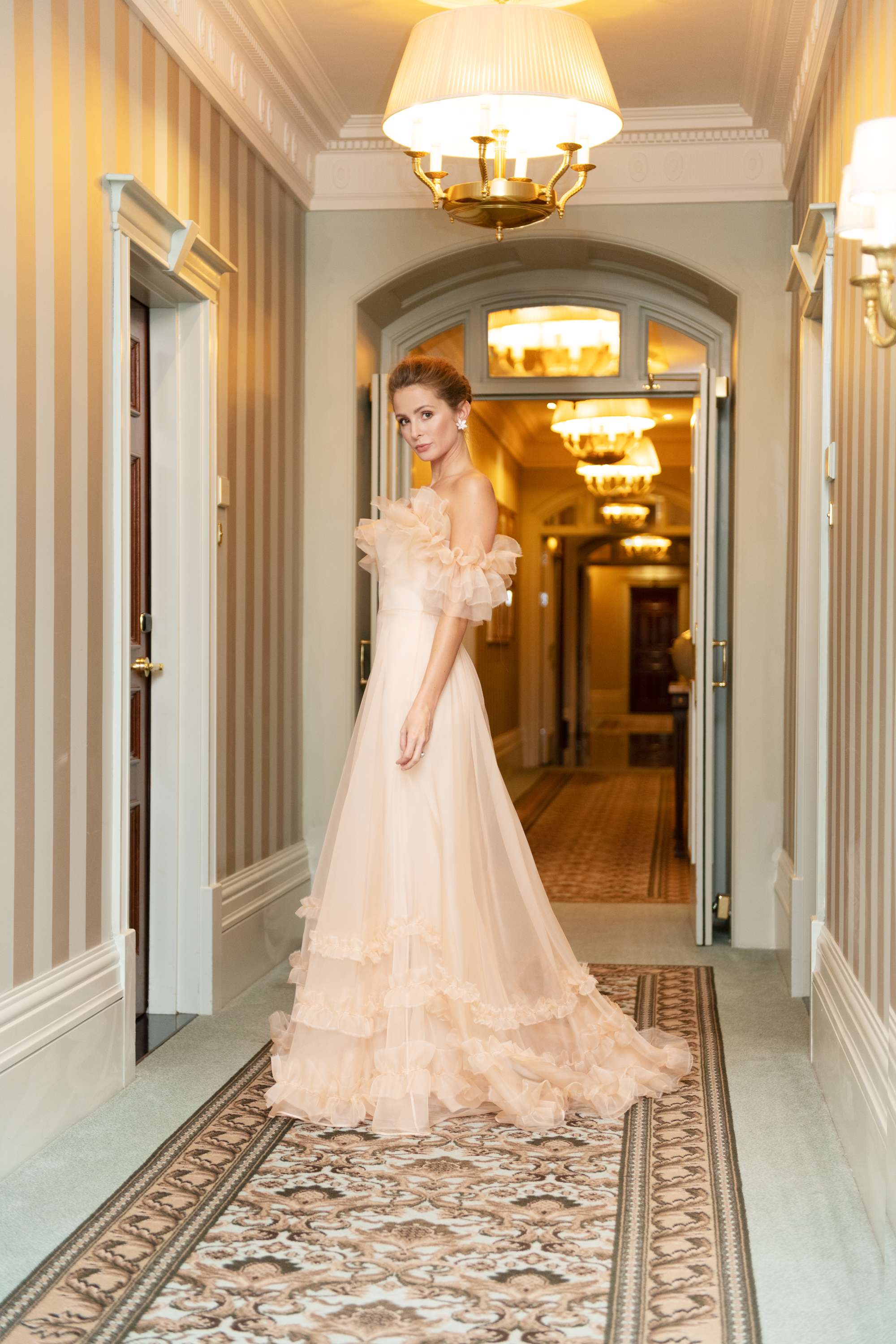 Millie Mackintosh BAFTA gown by Halfpenny London | Image by Oda Bakkeli Eide