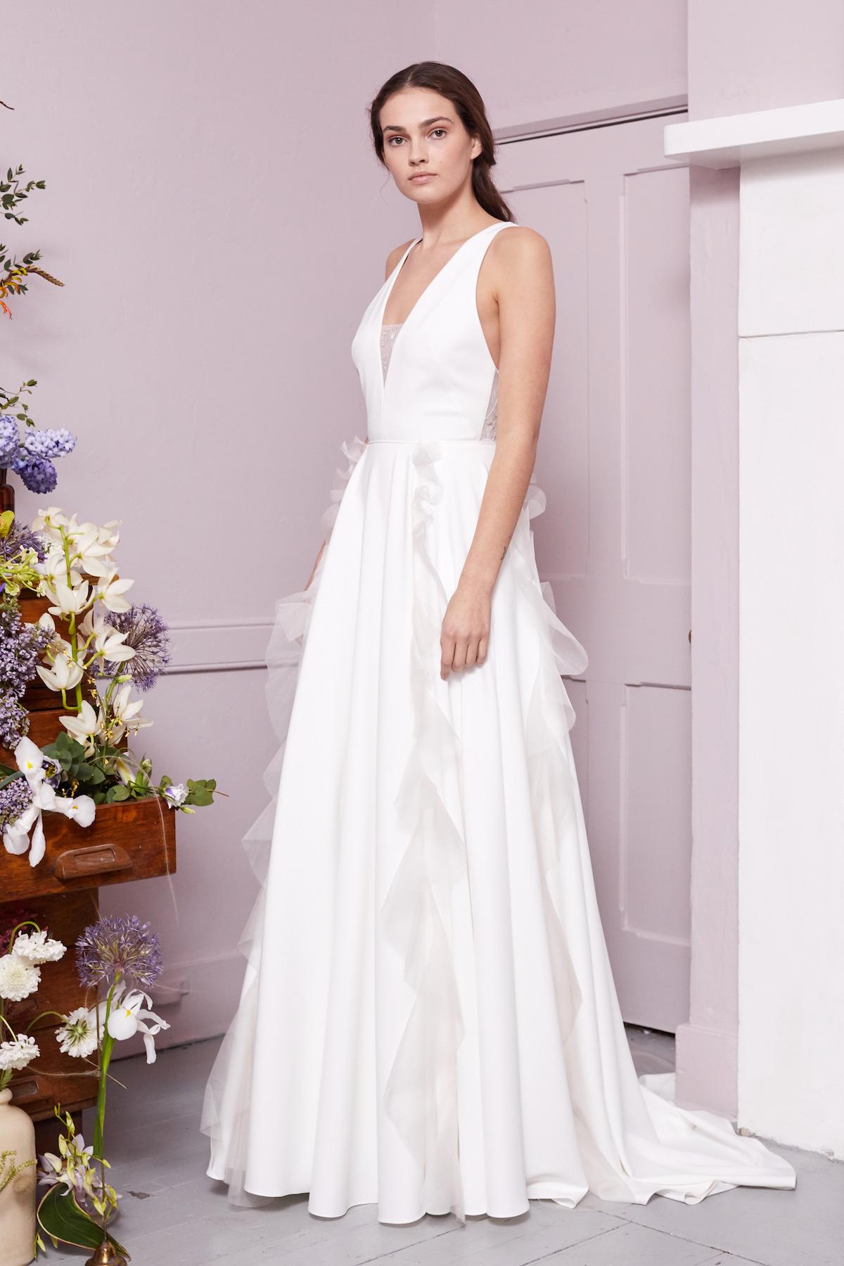 Klimt gown | Wedding dress by Halfpenny London