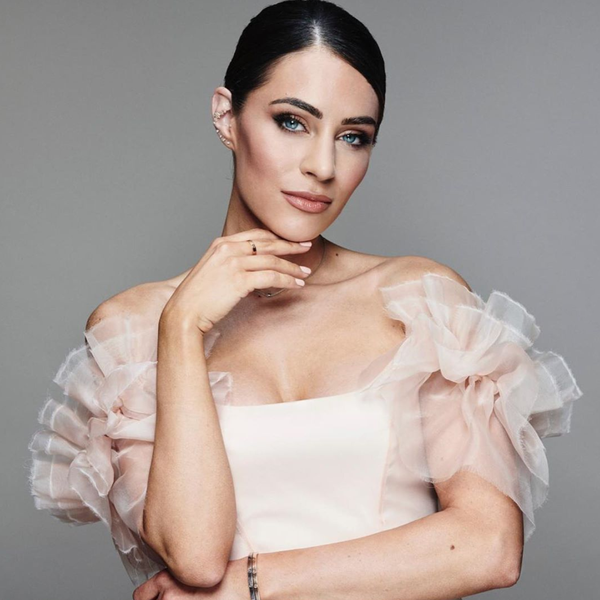 Lydia Millen wears Halfpenny London at the Cannes Film Festival 2019