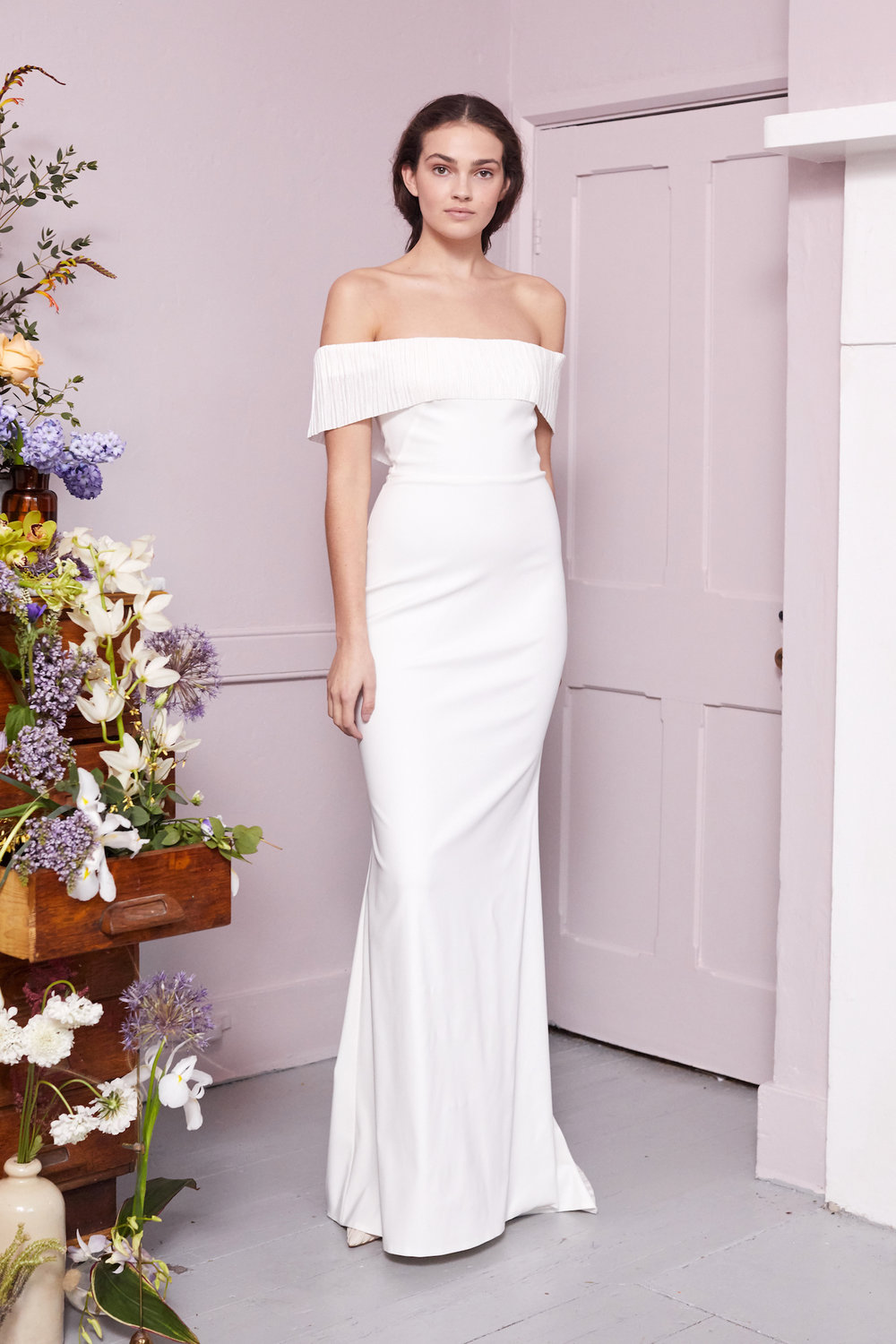 Harbour Frill | Wedding dress by Halfpenny London