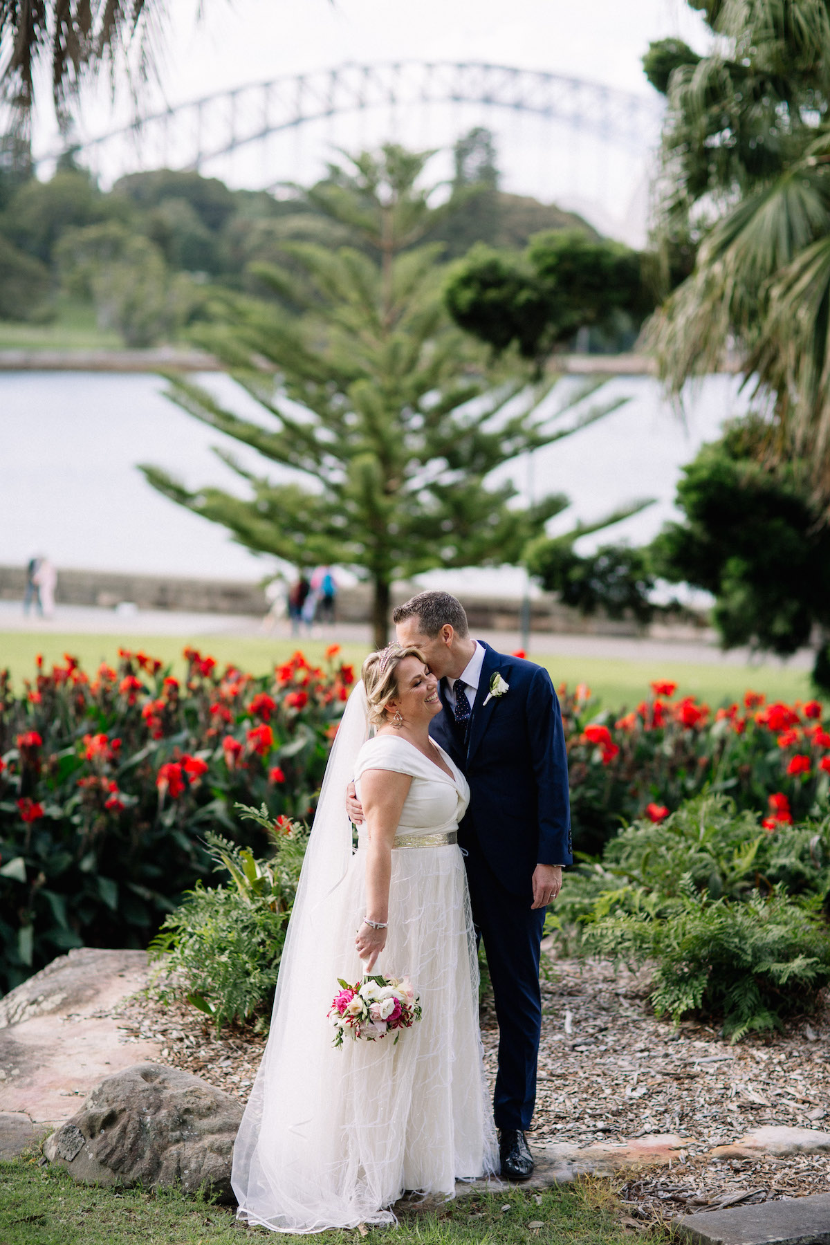 Beautiful bride Briony wore a wedding dress by Halfpenny London